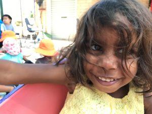 smiling girl enjoying meerilinga beechboro kadadjiny aboriginal playgroup