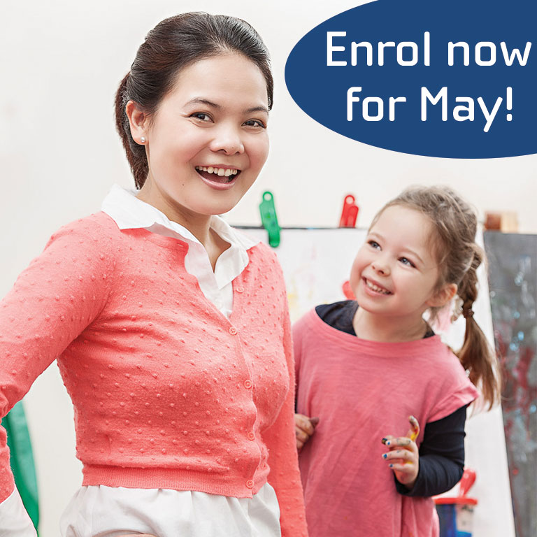 enrol now for childcare course in ballajura this may