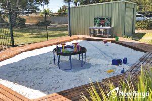 AR1 outdoor sandpit