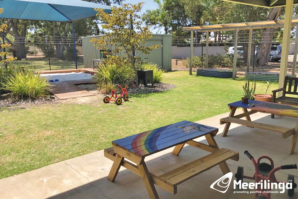 AR! outdoor area for room hire