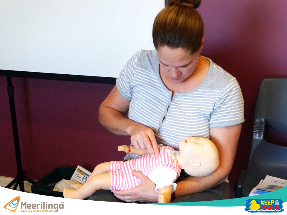 learn how to perform baby cpr