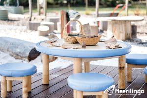 ballajura activity room for hire outdoor blue seats