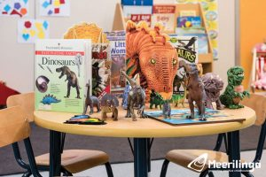 kingsley activity room 2 for hire indoor area dinosaurs