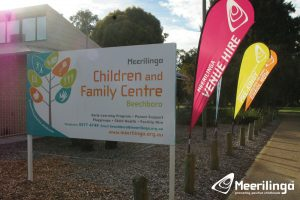 activity room 1 for hire outside signs
