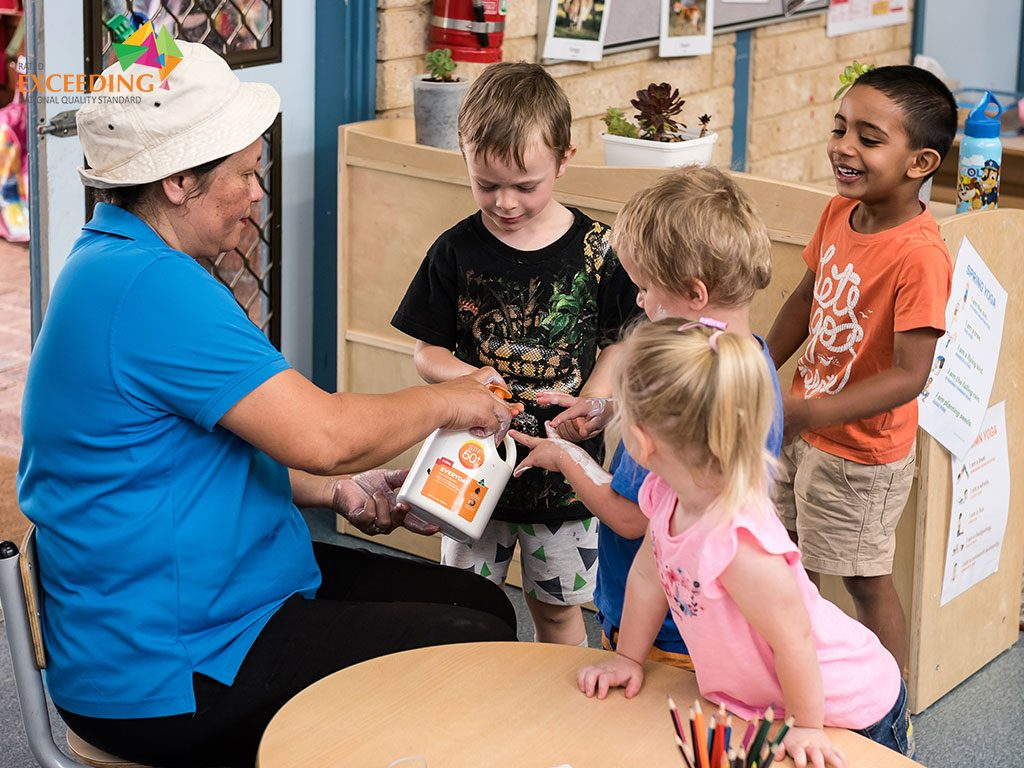 we care about our childrens safety and skin in our meerilinga high wycome early learning program. Boasting skilled educators that care about the children, in this pre-kindy program your child wont get lost in the crowd like in other childcare centres