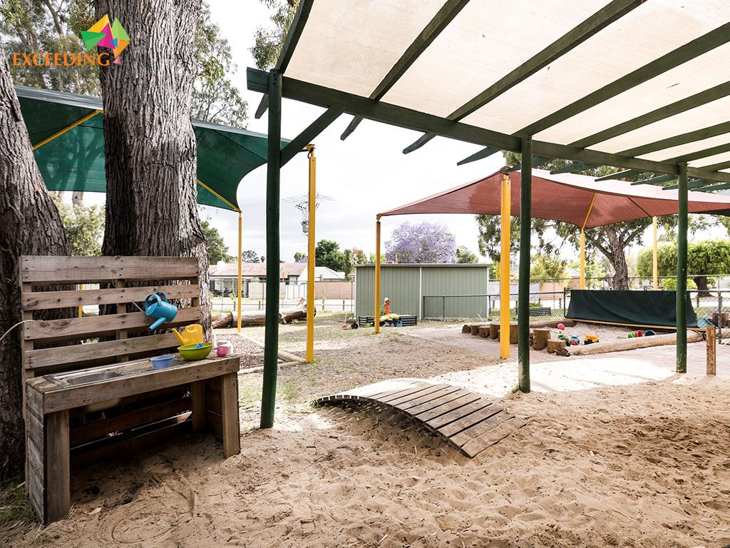 our high wycombe early learning program encourages outdoor nature play every day, with a specially designed play scape right outdoors. A tailored version of childcare, this pre-kindy program really gets your child ready for kindy using all of the eylf