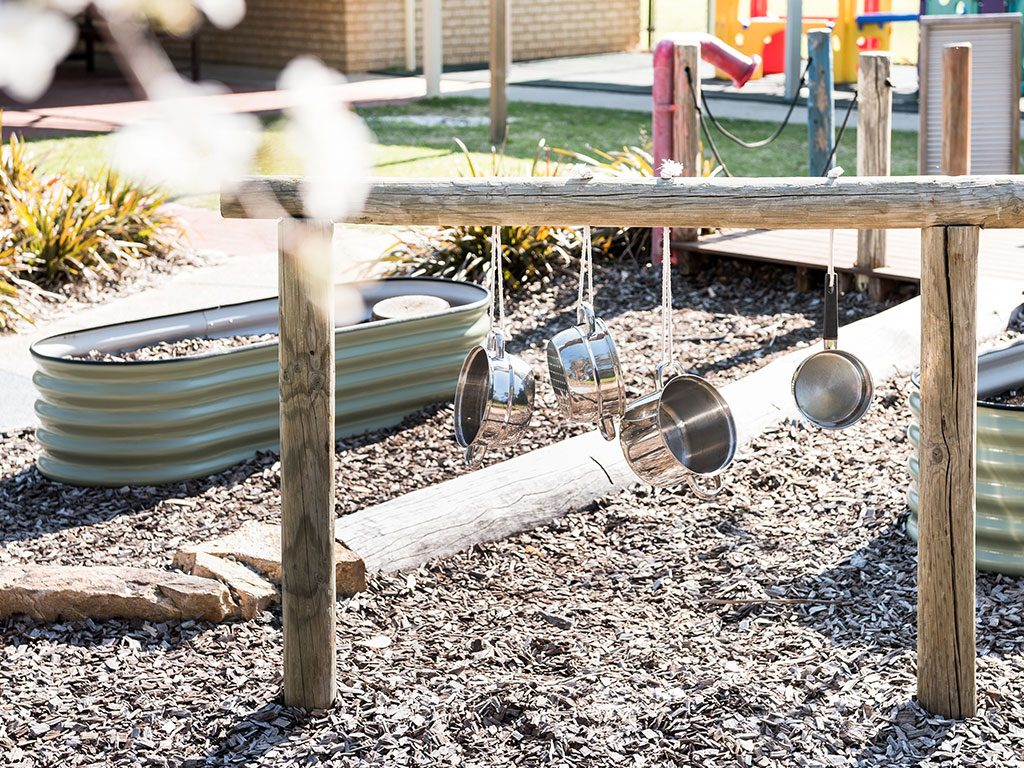let your child be inspired by the sound garden in meerilinga ballajura early learning program