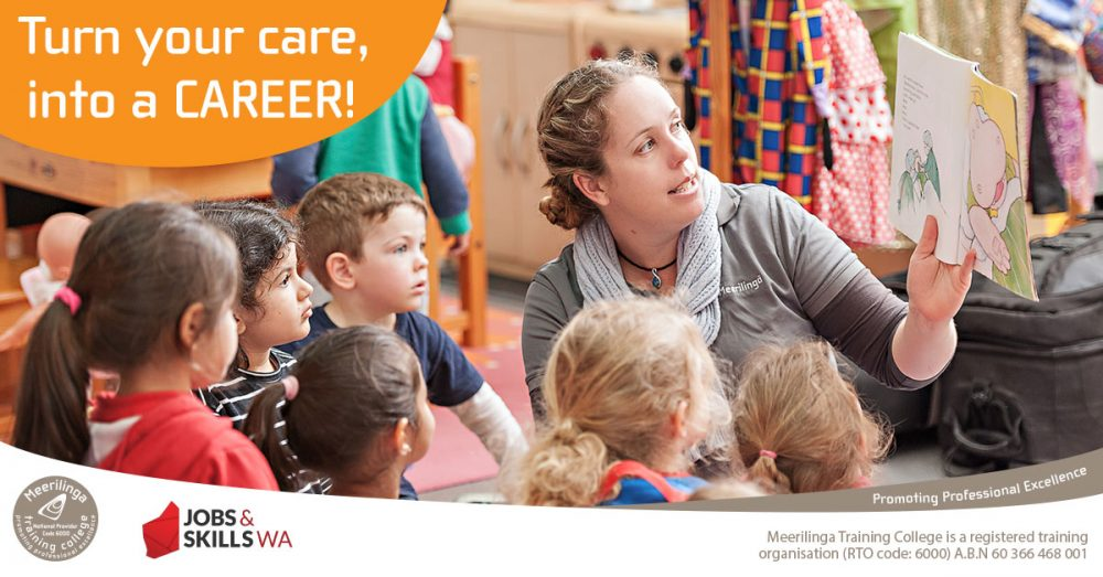 study childcare when you complete a certificate III in early childhood education and care with meerilinga training college cockburn