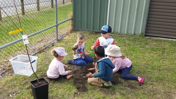 does the childcare centre stimulate positive learning through play