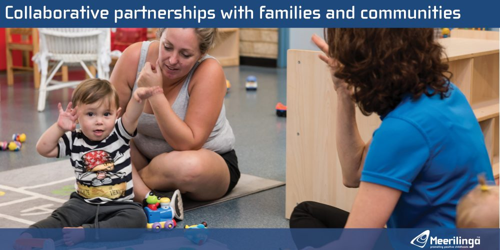 collaborative partnerships with the community and families