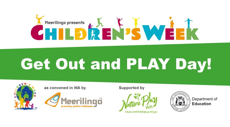 join us saturday 26 october for childrens week get out and play day