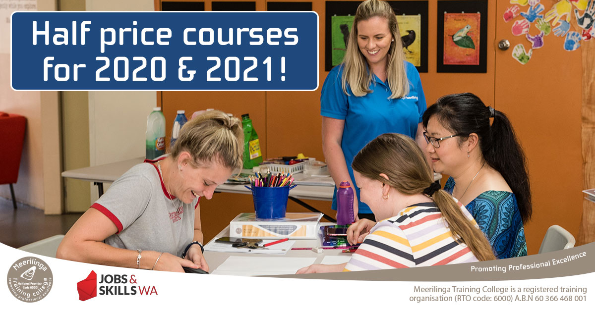 half price courses for 2020 & 2021