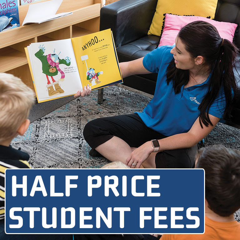 half price student fees