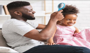 Daddy & Daughter Hair Session